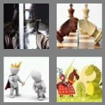 4 pics 1 word 6 letters knight