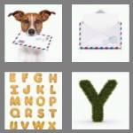 4 pics 1 word 6 letters letter