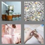 4 pics 1 word 6 letters making