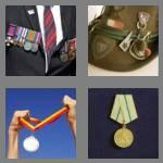 4 pics 1 word 6 letters medals