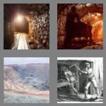 4 pics 1 word 6 letters mining