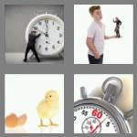 4 pics 1 word 6 letters minute