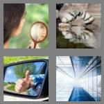 4 pics 1 word 6 letters mirror