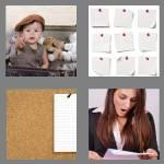 4 pics 1 word 6 letters notice