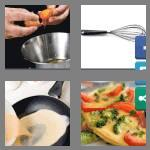 4 pics 1 word 6 letters omelet