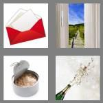 4 pics 1 word 6 letters opened