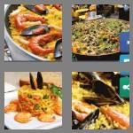 4 pics 1 word 6 letters paella