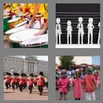 4 pics 1 word 6 letters parade