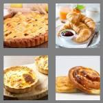 4 pics 1 word 6 letters pastry