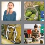 4 pics 1 word 6 letters pickle