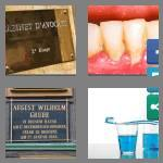 4 pics 1 word 6 letters plaque