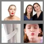 4 pics 1 word 6 letters pucker
