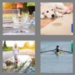 4 pics 1 word 6 letters puddle