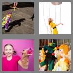 4 pics 1 word 6 letters puppet