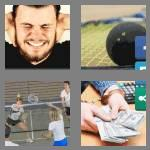4 pics 1 word 6 letters racket