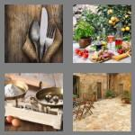 4 pics 1 word 6 letters rustic