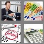 4 pics 1 word 6 letters salary