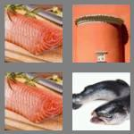 4 pics 1 word 6 letters salmon