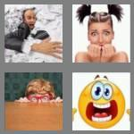 4 pics 1 word 6 letters scared