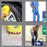 4 pics 1 word 6 letters scrubs