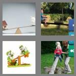 4 pics 1 word 6 letters seesaw