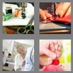 4 pics 1 word 6 letters sewing