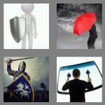 4 pics 1 word 6 letters shield
