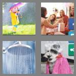 4 pics 1 word 6 letters shower
