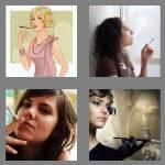 4 pics 1 word 6 letters smoker