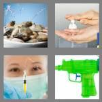 4 pics 1 word 6 letters squirt