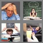 4 pics 1 word 6 letters stress