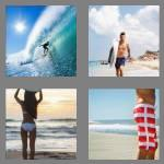 4 pics 1 word 6 letters surfer