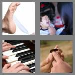 4 pics 1 word 6 letters tickle