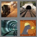 4 pics 1 word 6 letters tunnel