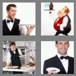 4 pics 1 word 6 letters waiter