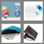4 pics 1 word 6 letters wallet