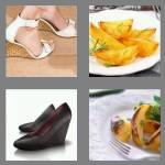 4 pics 1 word 6 letters wedges
