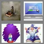 4 pics 1 word 6 letters wizard