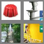 4 pics 1 word 6 letters wobbly