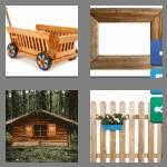 4 pics 1 word 6 letters wooden