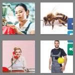 4 pics 1 word 6 letters worker