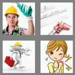 4 pics 1 word 6 letters wrench