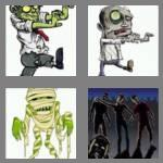 4 pics 1 word 6 letters zombie