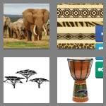 4 pics 1 word 7 letters african