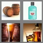 4 pics 1 word 7 letters alcohol