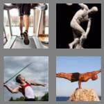 4 pics 1 word 7 letters athlete