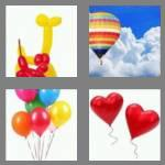 4 pics 1 word 7 letters balloon