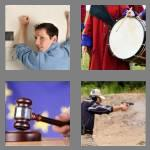 4 pics 1 word 7 letters banging