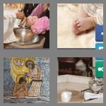 4 pics 1 word 7 letters baptism