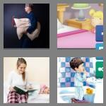 4 pics 1 word 7 letters bedtime
